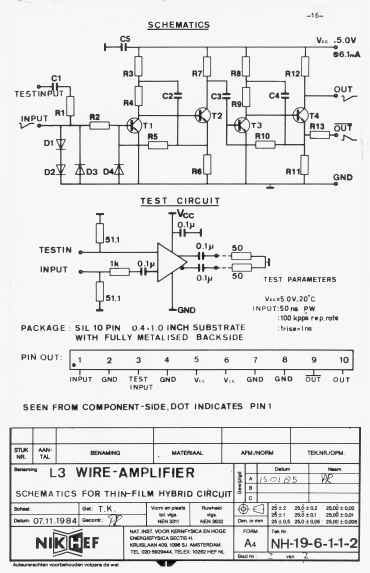 the l3 wire amplifier nh19 6112 9 electrical schematic back to contents