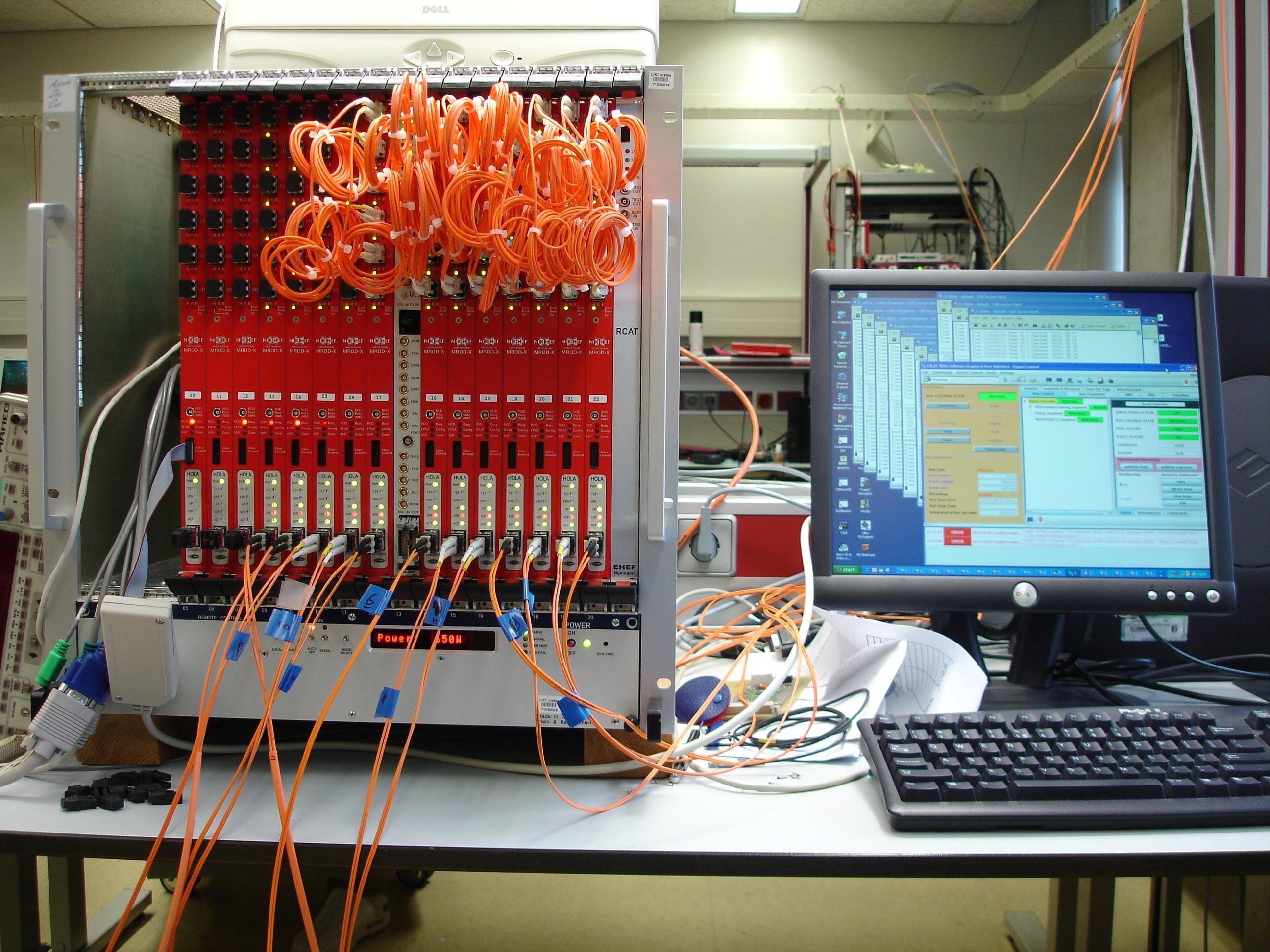 MROD test setup